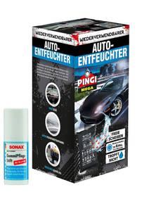 Pingi Mega Auto - Entfeuchter, 1 KG inklusive Gummi Pflegestift Pingi