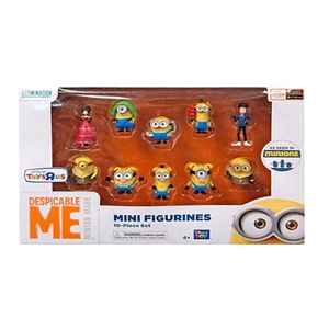Minions - Aktion Figuren Set, 10-tlg., sortiert