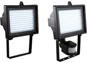 LED Strahler ohne/ mit Bewegungsmelder mit 130 LEDs Wetelux