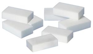 Melamin-Radierschwamm-Set, 4 Stück