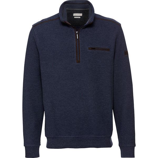 Bugatti Herren Sweatshirt, Troyer von