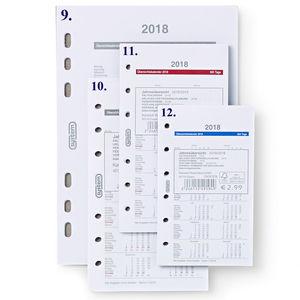 System Mini Jahresübersicht 2018