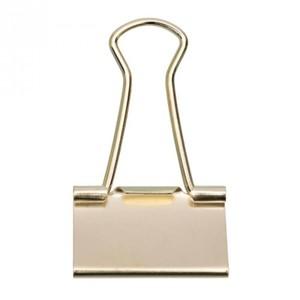 Foldback Klammern 32mm goldfarbig 6 Stück