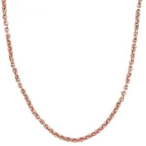 Gliederkette rosegoldfarbig 70cm