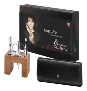 Zwilling Manicure             Etui 5-tlg. mit Manikürestation