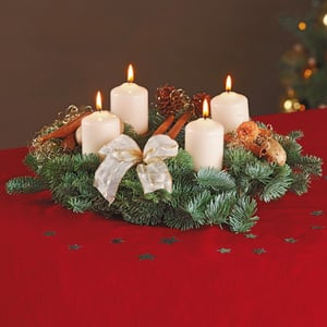 Adventskranz zum selbst dekorieren