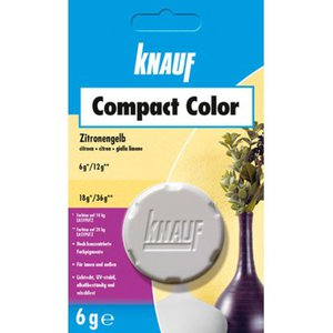 Knauf Compact Color Zitrone 6 g