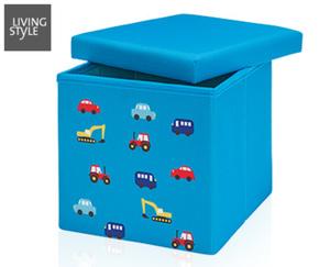 LIVINGSTYLE Kinder-Sitz- und Aufbewahrungsbox