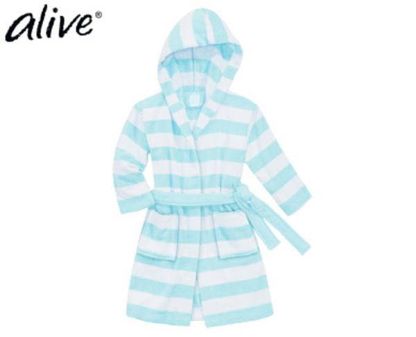 alive® Kinder-Frottee-Bademantel