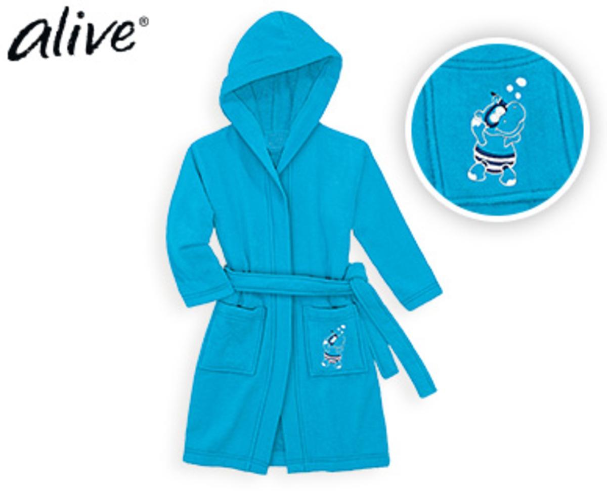 Bild 4 von alive® Kinder-Frottee-Bademantel