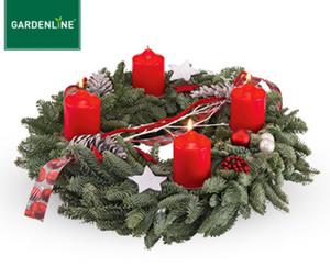 GARDENLINE® Adventskranz oder-gesteck, groß