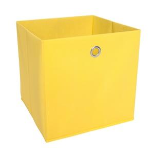 Faltbox TIMMY Fleece Gelb ca. ca. 32 x 32 x 32 cm