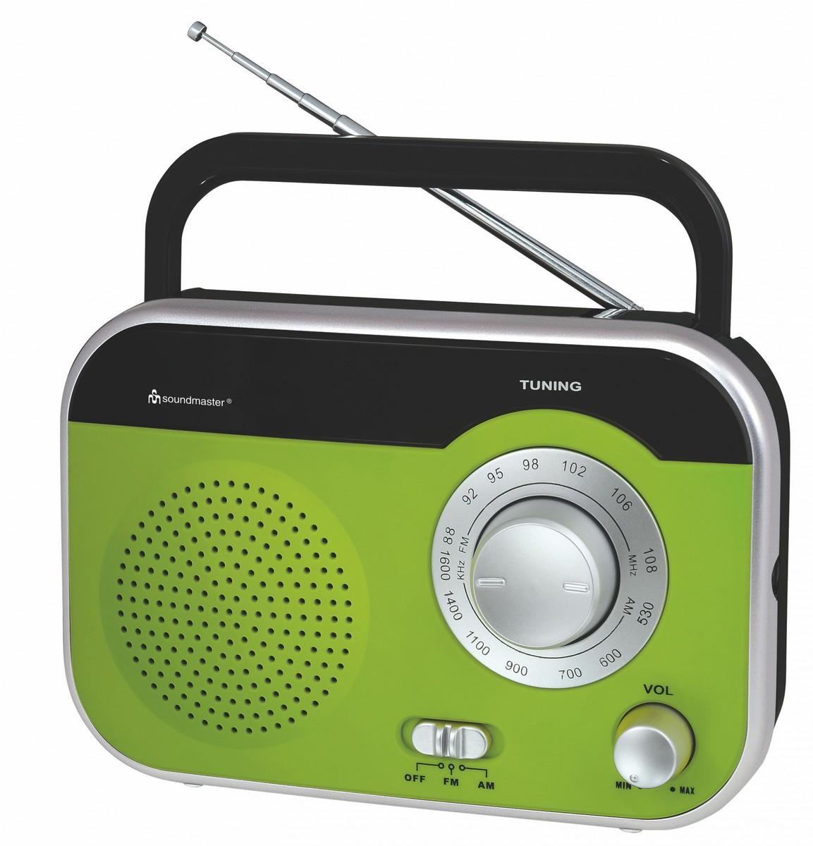 Bild 1 von Soundmaster Tragbares UKW/MW Radio mit Tragegriff