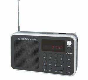 Soundmaster Portabler UKW-PLL Radio mit USB/SD