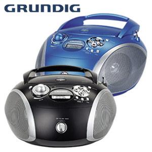 Stereo-CD-Radio GRB 2000 USB • CD-Player, MP3, UKW-PLL-Tuner • Ultra-Bass-System, USB-Anschluss • Netz- oder Batteriebetrieb, je
