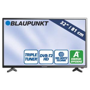 "32""-LED-HD-TV BLA-32/138O • H.265 • 3 HDMI-/2 USB-Anschlüsse, CI+ • Stand-by: 0,5 Watt, Betrieb: 31 Watt • Maße: H 43,1 x B 73,2 x T 8,4 cm • Energie-Effizienzklasse A+"