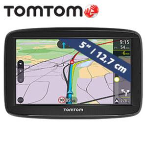 Navigationssystem Via 52 EU inkl. Free Lifetime Maps** • Fahrspurassistent, Sprachsteuerung Speak & Go • lebenslang TomTom Traffic-Verkehrsinformationen via Smartphone • Freisprechen über Blue