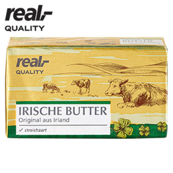 irische butter jede 250 g packung von real ansehen. Black Bedroom Furniture Sets. Home Design Ideas