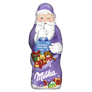 Milka Weihnachtsmann versch. Sorten, jedes 50-g-Stück