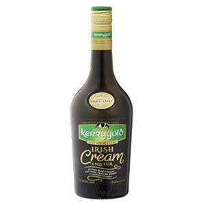 Kerrygold Irish Cream Liquer 17 % Vol., jede 0,7-l-Flasche