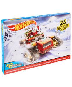 Hot Wheels - Adventskalender - Autos und Zubehörteile - ca. 46 x 4 x 30 cm