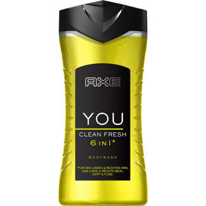 AXE YOU Clean Fresh 6in1* Duschgel 0.62 EUR/100 ml