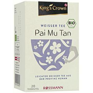 King´s Crown Bio Weißer Tee Pai Mu Tan 6.63 EUR/100 g