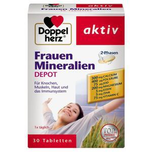 Doppelherz aktiv Frauen Mineralien Depot 9.05 EUR/100 g