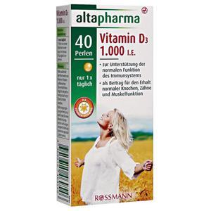 altapharma Vitamin D3 1000 I.E. 22.61 EUR/100 g