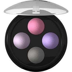 lavera ILLUMINATING EYESHADOW QUATTRO -Lavender Couture 02-