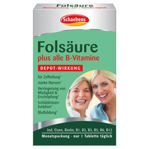 Schaebens Folsäure & alle B-Vitamine