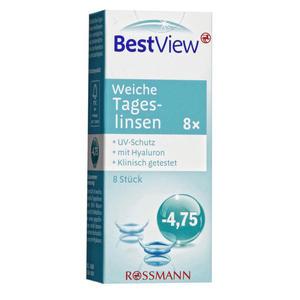 Best View weiche Tageslinsen -4,75
