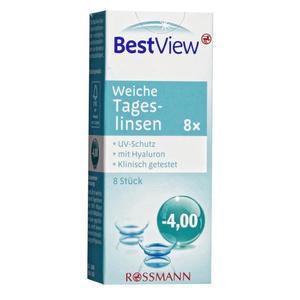 Best View weiche Tageslinsen -4,00
