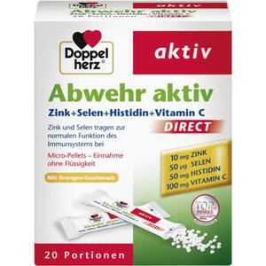 Doppelherz Aktiv Direct Abwehr aktiv Zink + Selen + Hi 15.35 EUR/100 g