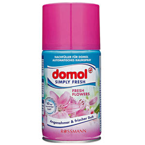 domol Simply Fresh Nachfüll-Spray ´´Fresh Flowers´´ 1.20 EUR/100 ml