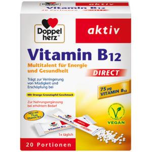 Doppelherz aktiv Vitamin B12 direct 20.06 EUR/100 g
