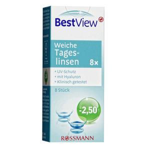Best View weiche Tageslinsen -2,50