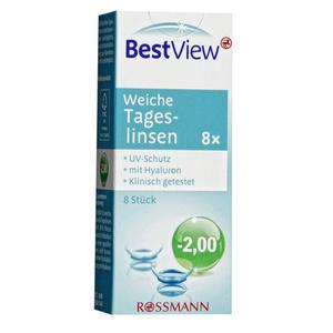 Best View weiche Tageslinsen -2,00