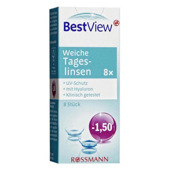 Best View weiche Tageslinsen -1,50