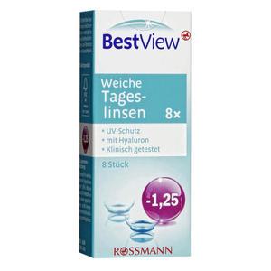 Best View weiche Tageslinsen -1,25