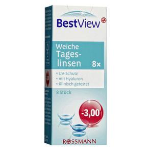 Best View weiche Tageslinsen -3,00