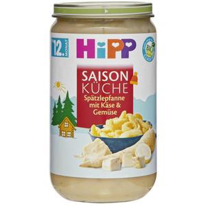 HiPP Saison Küche Bio Spätzle mit Käse & Gemüse 0.54 EUR/100 g (6 x 250.00g)