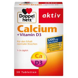 Doppelherz aktiv Calcium + Vitamin D3 5.84 EUR/100 g