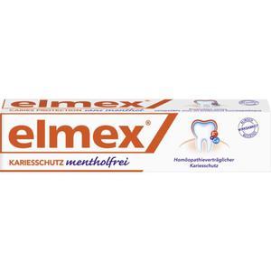 elmex Kariesschutz Zahnpasta Mentholfrei 3.99 EUR/100 ml