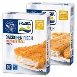 Frosta Backofen / Pfannen Fisch