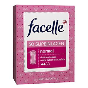 facelle Slipeinlagen normal