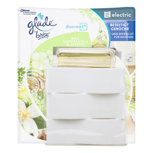 Glade by Brise discreet® electric Duftstecker Bali Sandelholz & Jasmin