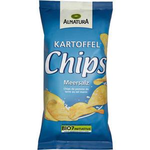 Alnatura Bio Kartoffelchips Meersalz 1.35 EUR/100 g