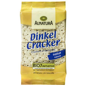 Alnatura Bio Dinkel Cracker natur 0.99 EUR/100 g