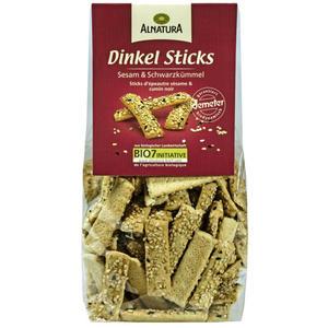 Alnatura Bio Dinkel Sticks mit Sesam und Schwarzkümmel 1.13 EUR/100 g